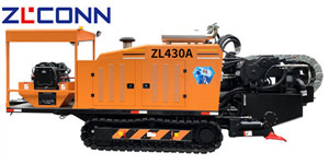 06 ZLCONN 45T HDD Machine ZL430A rock drilling with mud motor