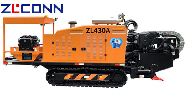 ZLCONN 45T HDD Machine ZL430A rock drilling with mud motor